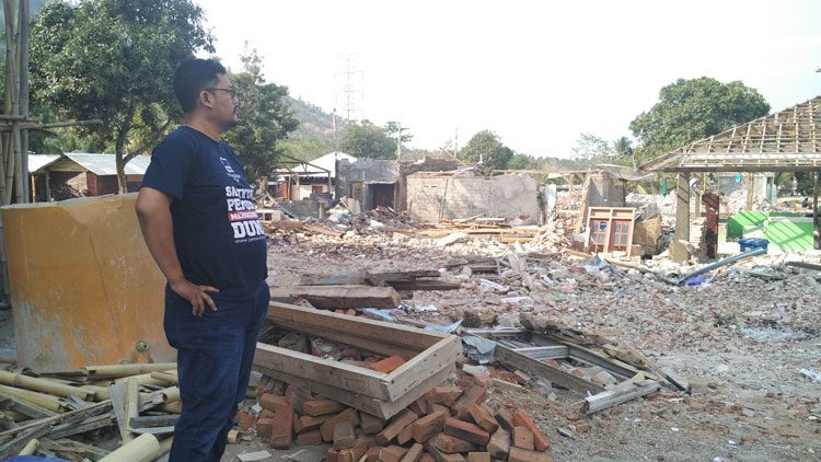 Bencana Gempa di Lombok