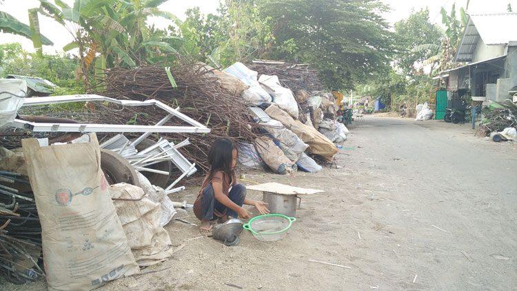 Anak Korban Gempa Lombok