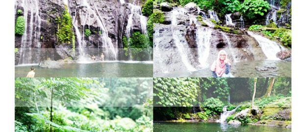 "Air Terjun Banyumala, ""Twin Waterfalls"""