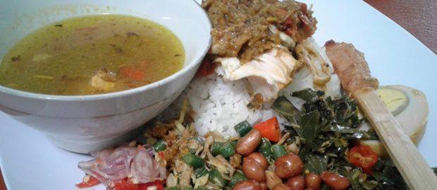 Nasi Campur Ayam Betutu