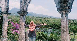 Wisata Istana Air Taman Ujung