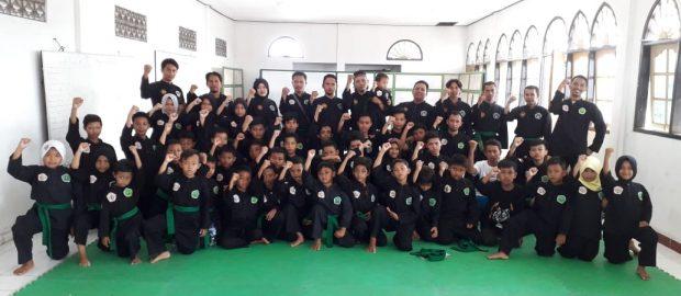 Sambut UKT Akbar, Pagar Nusa Gianyar Gelar Latihan Gabungan