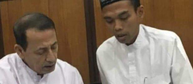 UAS Berbai'at Kepada Maulana Habib Luthfi dan Digelari Syaikh