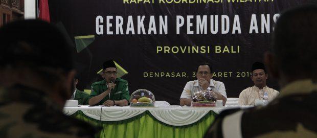Ketua GP Ansor Bali Instruksikan Seluruh Ketua Pimpinan Cabang Turut Jaga Suasana Kondusif Pilpres