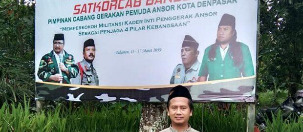Pesan Aswaja Center PWNU Jatim Bidang Kebangsaan, Banser Benteng Aswaja Pulau Dewata