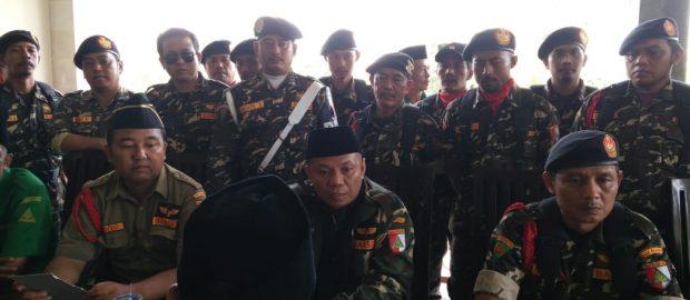 Wujudkan pemilu Damai, Banser PAC Kuta Utara Bersinergi dengan Pemerintah Kabupaten Badung