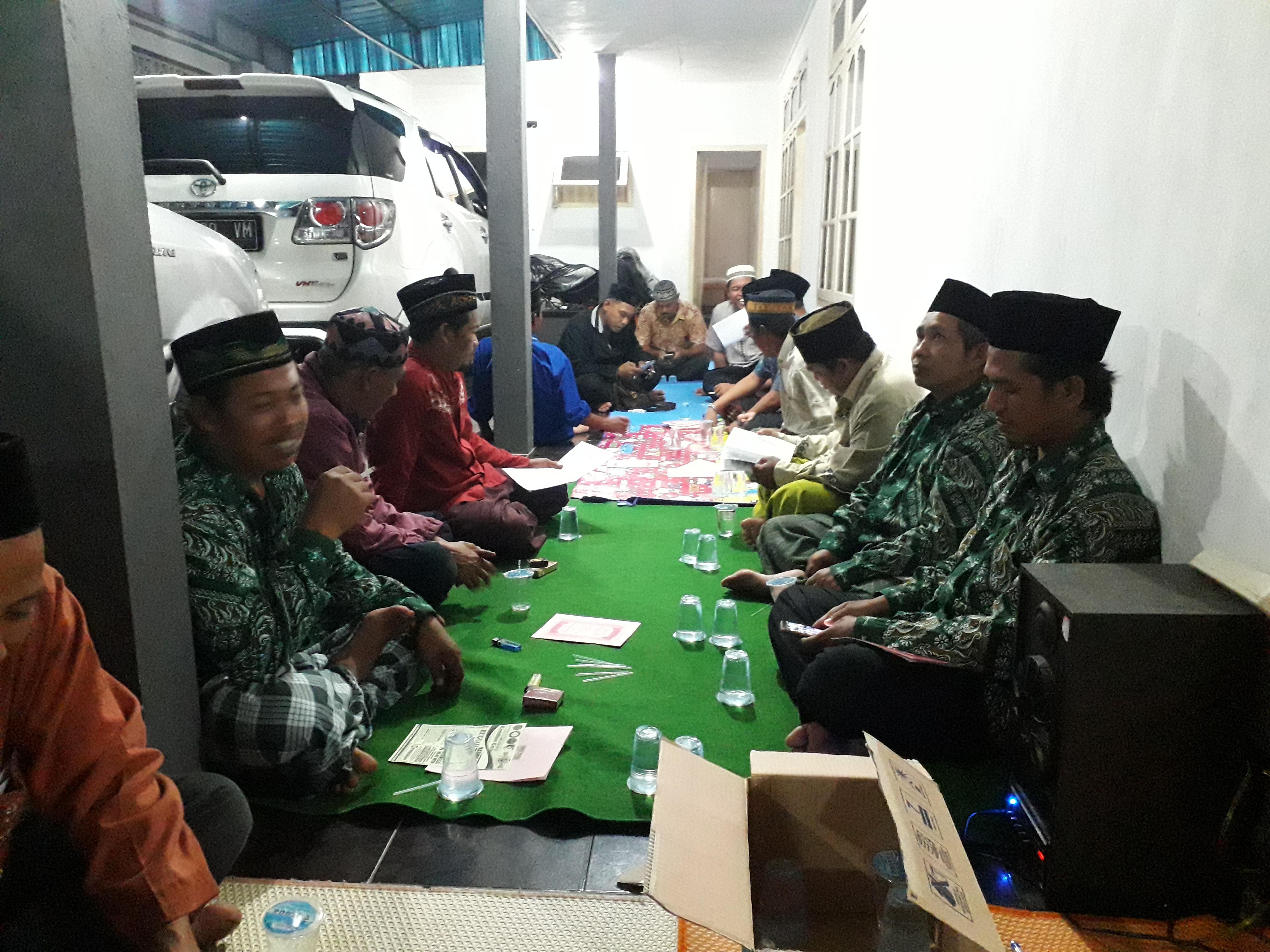 Sambut Ramadhan, MWC NU Blahbatuh Adakan Pembentukan Masal Ranting