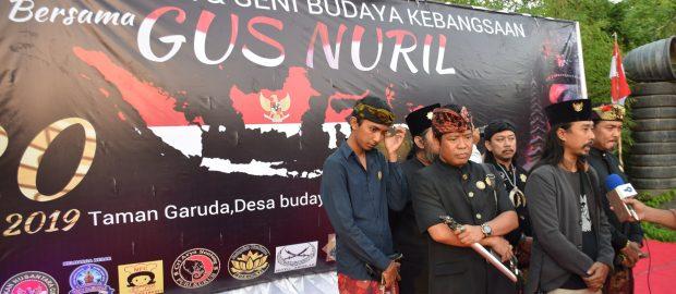 Do'a, Tari, dan Lagu Hembuskan Semangat Kebangsaan di Desa Budaya Kertalangu, Denpasar