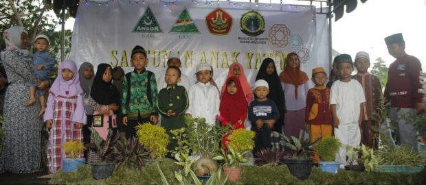 Rijalul Ansor Denpasar Santunan dan Buka Bersama Anak Yatim