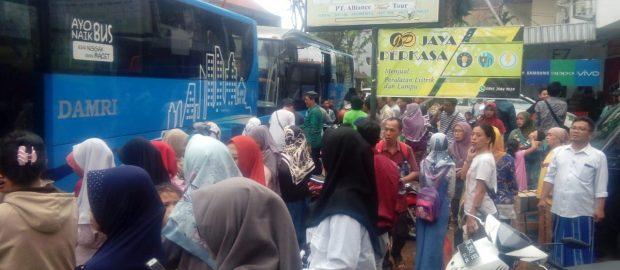 Masa Liburan Berakhir, Santri Ponpes Salafiyah Syafi'iyah Sukerojo Asal Bali Kembali ke Pondok