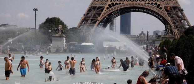 Pecahkan Rekor Suhu Udara, Gelombang Panas Melanda Eropa