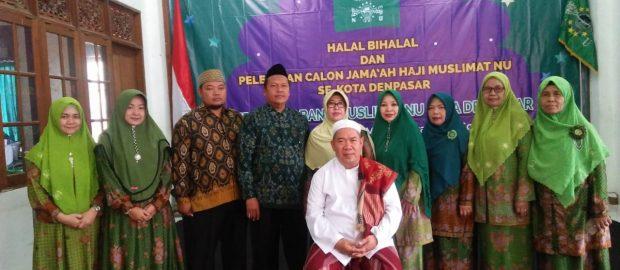 Muslimat NU Denpasar Melepas Pemberangkatan Calon Haji Anggotanya