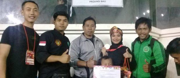 Juarai Turnamen Internasional, Qonita Harumkan Nama Pagar Nusa Bali