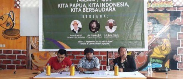 Redam Konflik, Ansor Jayapura Gelar Diskusi dan Ikrar Kebangsaan