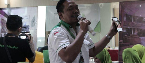 NUCare-Lazisnu Bali Berikan Tutorial Sedekah Online di Workshop GOJEK Wirausaha Bersama Muslimat NU
