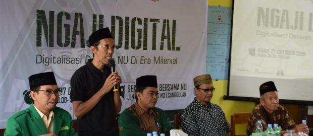 GP Ansor Tabanan Siapkan Kader Media Lewat Ngaji Digital