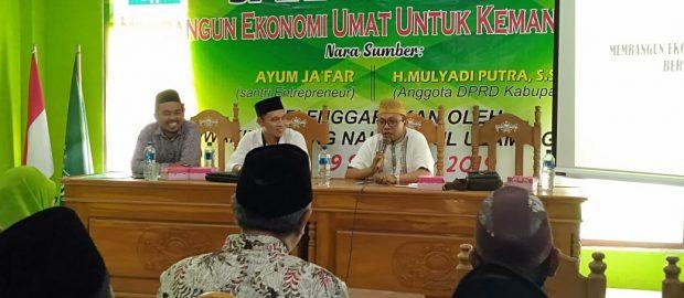 Sarasehan Ekonomi MWC NU Gerokgak Tawarkan Peluang Usaha Warga