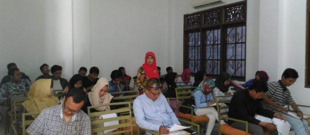 Seleksi Masuk ISTNUBA Diikuti 68 Calon Mahasiswa
