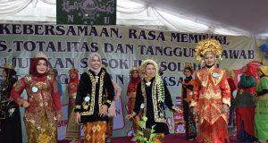 Libatkan Majelis Ta'lim, ANCAB Muslimat NU Denpasar Utara Rayakan Hari ibu