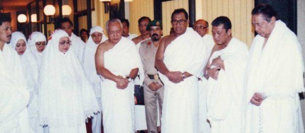 Gus Dur dan Perjalanan Haji Soeharto