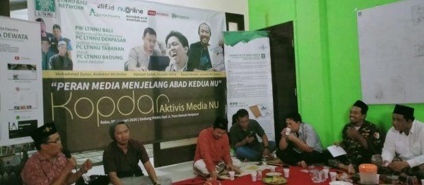 Media NU, Perisai Manhaj Ahlussunah Waljamaah.