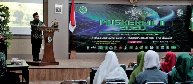 Muskerwil PWNU Bali : Merekatkan Kerukunan Beragama