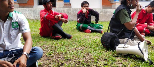 Relawan NU Peduli COVID-19 Bali Tangani Sterilisasi Kepulangan Santri Sukorejo