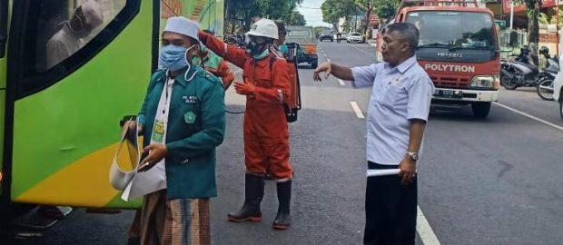 Setelah melalui Cek Kesehatan Berlapis, Santri Asal Bali Dinyatakan Bebas Covid-19