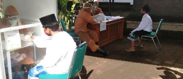 Tahap 3, NU Bali dan Bupati Badung Rapid Test Santri dari 21 Pesantren