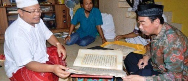 Al Qur'an Kuno Khas Bali, Tulisan Tangan Muallaf Keluarga Puri Singaraja