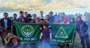 PW IPNU-IPPNU Bali Gelar Upgrading bersama di Danau Buyan