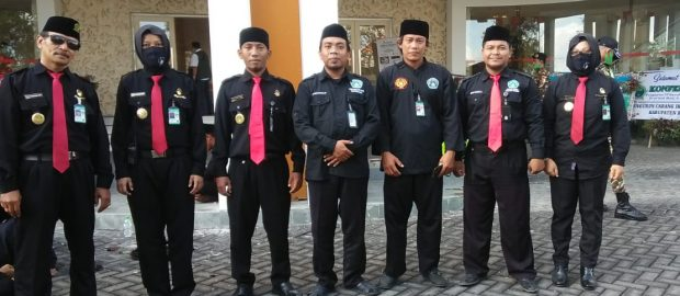 Konferwil VII PWNU Bali Libatkan Pasukan Inti Pengamanan Kiai Layaknya Paspampres
