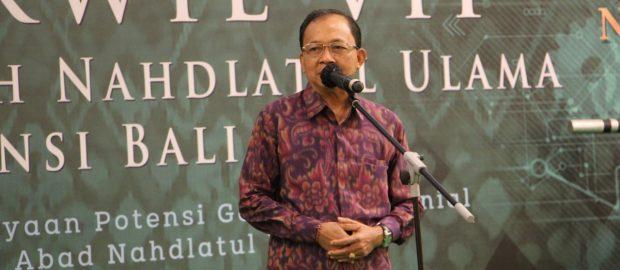 Gubernur Koster; Sejarah Membuktikan Komitmen NU Jaga dan Rawat NKRI