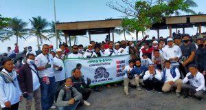 Kendarai Sepeda Motor, Habib Salim Bafaqih Ikuti Ziarah Wali Bali Bersama Komunitas Pecinta Ziarah Wali
