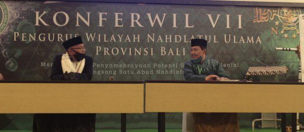 Meraup Mayoritas Suara, KH. Abdul Azis Kembali Pimpin PWNU Bali Periode 2020-2025