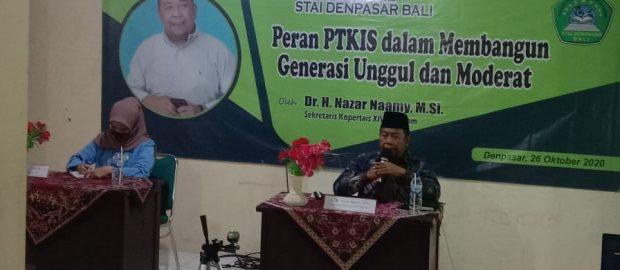 Sekretaris Kopertais XIV Mataram Ingatkan Mahasiswa STAID Pentingnya Moderasi Agama dan Dakwah yang Ramah