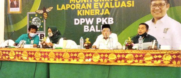 Monitoring DPW PKB Bali, Pentingnya Administrasi  dan Peran Masif Sosial Media