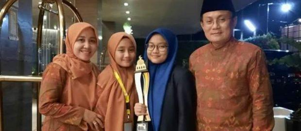 Kakak Beradik Asal Bali Raih Juara di MTQ Nasional 2020 Sumbar