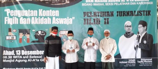 Kuatkan Konten Fikih-Akidah di Media Sosial, DKM Masjid Al A'la Gianyar Hadirkan Aswaja Dewata