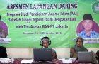 Prodi PAI STAI Denpasar Jalani Proses Asesmen Lapangan secara Online