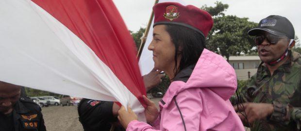 Terinspirasi, Katerine Bule Rusia Spontan Ikuti Pelatihan PGN Bali
