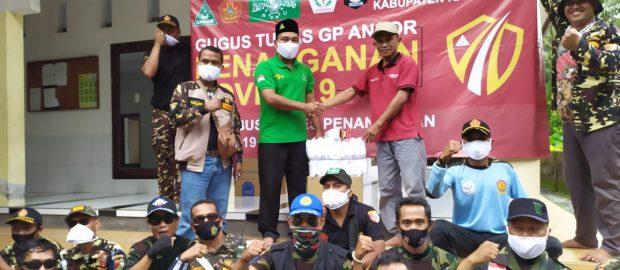PC Ansor Karangasem Distribusikan Alkes ke Masyarakat Sebagai Upaya Cegah Penyebaran Virus Covid 19