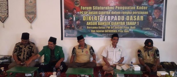 Ketua Ansor Bali; Diklat Terpadu Bertujuan Meningkatkan Militansi dan Wawasan Setiap Kader