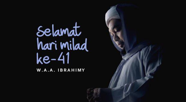 Sajak Milad KHR. Ahmad Azaim Ibrahimy