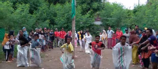 Kader Penggerak NU Pejarakan Ajak Anak-Anak Ber NU Dengan Riang Gembira