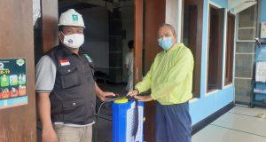 Tanggapi Permintaan Masyarakat, LPBINU Kota Denpasar Kembali Lakukan Desinfektasi Dua Musholla