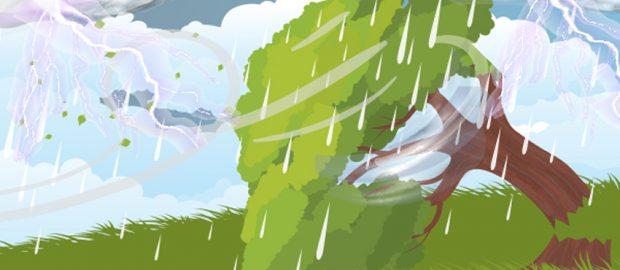 Tindakan dan Doa Nabi Ketika Hujan Deras Disertai Angin Kuat