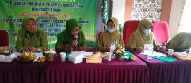 Hj Nuriyati Khasbullah Terpilih Kembali Pimpin Muslimat NU Denpasar Timur
