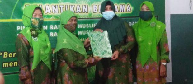 Dua Kepengurusan Ranting di Muslimat NU Denpasar Selatan Dilantik Secara Bersamaan