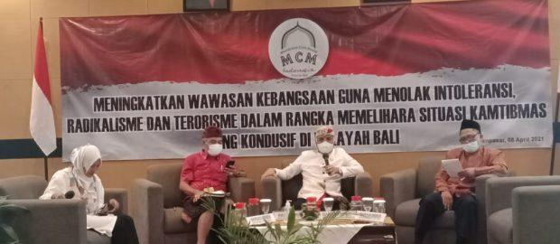 Seminar Kebangsaan MCMI Bali Kuatkan Semangat Perlawanan Terhadap Radikalisme